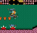 Chester Cheetah: Wild Wild Quest Genesis Too many sea creatures