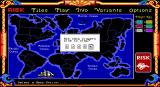 The Computer Edition of Risk: The World Conquest Game DOS Select number of players
