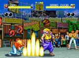 Fatal Fury Neo Geo Terry throws your Power Wave in Duck King. Different design!