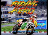 Riding Hero Neo Geo Title