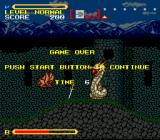 Super Valis IV SNES When you are killed, it's Game Over. No extra lives, no nothing