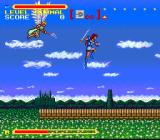 Super Valis IV SNES Nice scenery, but thos flying creatures are annoying
