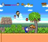Doraemon 4: Nobita to Tsuki no Ōkoku SNES Let's combine forces to defeat the evil dog!