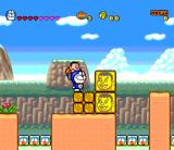 Doraemon 4: Nobita to Tsuki no Ōkoku SNES I'm so famous, there are my pictures everywhere
