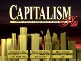 Capitalism Plus Windows Main Menu