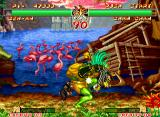Samurai Shodown II Neo Geo One hug that nobody would like to receive. But its opponent yes, I'm sure! ;-)