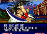 Samurai Shodown II Neo Geo Feels the power of Haohmaru's sword... Yes, all over again!