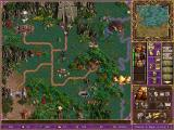 Heroes Chronicles: Warlords of the Wastelands Windows The Strategic Map