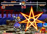 "Samurai Shodown II Neo Geo Charlotte executes the ""mercy move"": saved in last hour! Final result: other excellent victory and, coming soon, a broken sword."