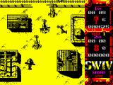 S.W.I.V. ZX Spectrum Defend yourself from incoming choppers.