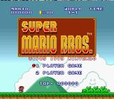 Super Mario All-Stars + Super Mario World SNES Super Mario Bros. title screen