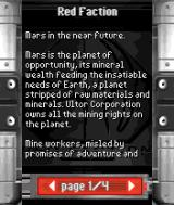 Red Faction N-Gage Mars is the planet of opportunity...