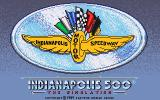Indianapolis 500: The Simulation DOS Title Screen