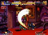 The King of Fighters '94 Neo Geo Nothing can save you from a Genocide Cutter. The impact of this blow is very smashing!