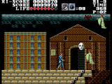 Master of Darkness SEGA Master System Under attack by some ghosts