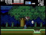 Vampire: Master of Darkness SEGA Master System In the forest
