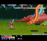 The King of Dragons SNES Boss Fight: Hydra
