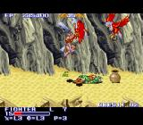 The King of Dragons SNES Some spells turn enemies into frogs.