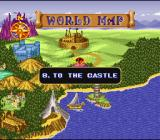 The King of Dragons SNES Map Screen