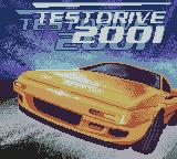 Test Drive 2001 Game Boy Color Title Screen