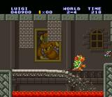 Super Mario All-Stars + Super Mario World SNES Bye bye, Bowser (or Koopa, you choose) ...