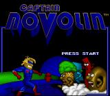 Captain Novolin SNES Title screen