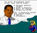 Captain Novolin SNES Pay attention! If you eat too much, you'll lose a life!