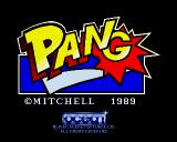 Pang Amiga Title screen