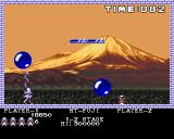 Pang Amiga Mt-Fuji - shoot big balloon to split it into half