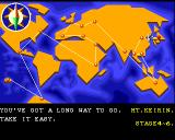 Pang Amiga World map screen