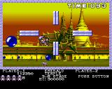 Pang Amiga Emerald Temple - just lost one valuable life