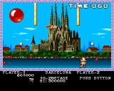 Pang Amiga Barcelona - paralyzed after touch of an enemy