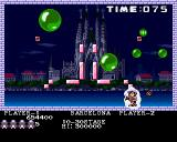 Pang Amiga Barcelona - momentary protected by the shield
