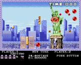 Buster Bros. Amiga New York - just split balloon into two smaller