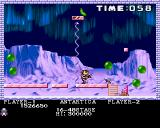 Pang Amiga Antartica - it is possible to destroy each block