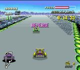 F-Zero SNES Drive in reverse is a big trouble!
