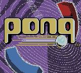 Pong: The Next Level Game Boy Color Title Screen
