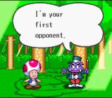 Wario's Woods SNES The first opponent on the easy difficulty level.