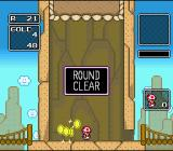 "Wario's Woods SNES The faster you finish a stage in the ""Round Game"" mode, the more gold you will get."