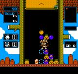 "Wario's Woods NES Going against a boss in ""Round Game""."