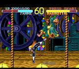 World Heroes SNES Janne vs. Rasputin