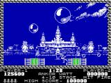 Pang ZX Spectrum Ankor Watt - one touch of balloon and life is lost