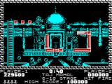 Pang ZX Spectrum Taj Mahal - falling down from short platform