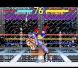 "World Heroes SNES ""Brocken"" in a suplex with ""Muscle Power""."