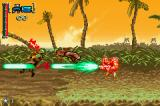 Turok: Evolution Game Boy Advance Defeating enemies with heavy ammo.