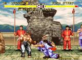 Fighter's History Dynamite Neo Geo Fighting Lee