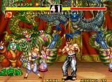 Fighter's History Dynamite Neo Geo Fighting Feilin at a festival?