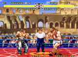 Fighter's History Dynamite Neo Geo Fighting Marstorius