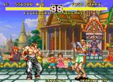 Fighter's History Dynamite Neo Geo Fighting Sackay