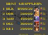 Fighter's History Dynamite Neo Geo High Scores